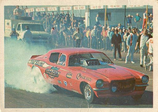 1971 Fleer AHRA Drag Champs Dick Harrell (1)