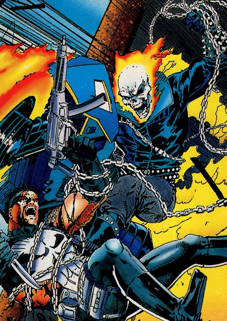 1992 Punisher War Journal #42 (1)
