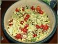 Corn, tomatoe and avacado salad - so delicious