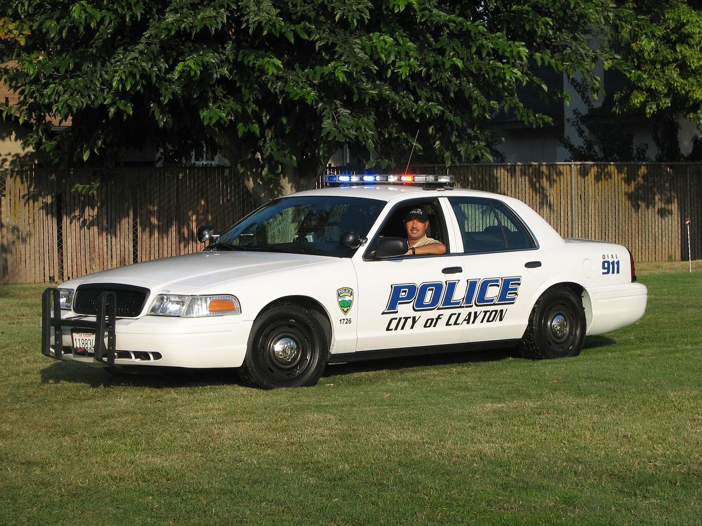CA - Clayton Police