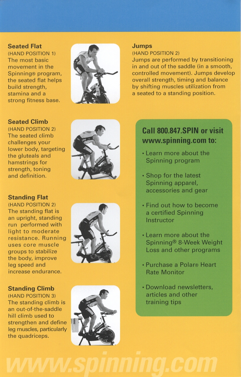 """Spin Class """"How To""""."""