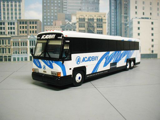 Academy Bus Lines Hoboken N.J.  #1839