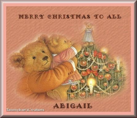 christmasteddytjcAbigail