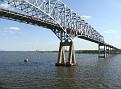 Sailing under Key Bridge