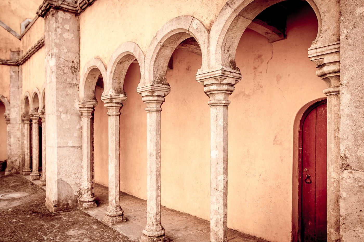 Gallery at Pena Palace
