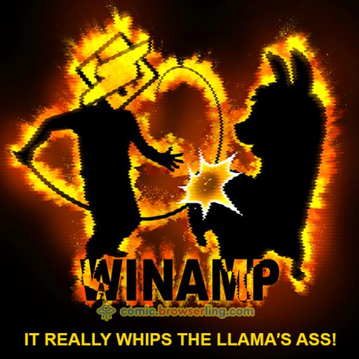 Winamp Llama - Weekly comic about web developers, software and browsers