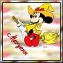 Minnie as witchTMaryann