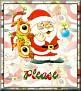 Santa with friendsTaPlease