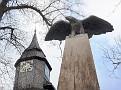Adler des Kriegerdenkmals vor der Marienkirche