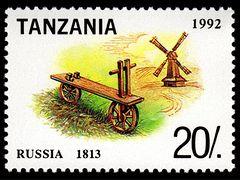 Historie of bikes - Russia 1813