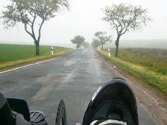 Nebel, Nieselregen
