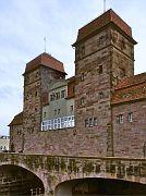 Weserseite der alten Schachtschleuse