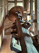 Nockenwelle der Wassermühle