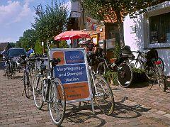 Verpflegungstation Weserterrassencafé Backofen Heinsen