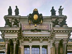 Hauptportal der Akademie der bildenden Künste