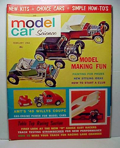 MODEL CAR SCIENCE FEBRUARY 1964