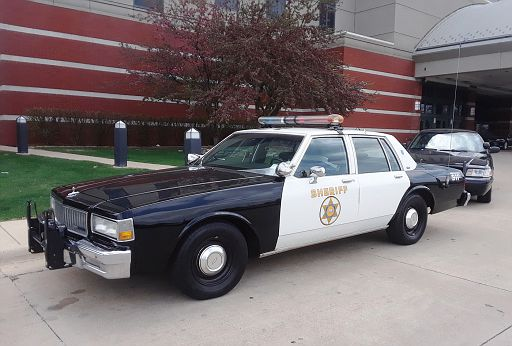 CA- LA County Sheriff 1989 Chevy