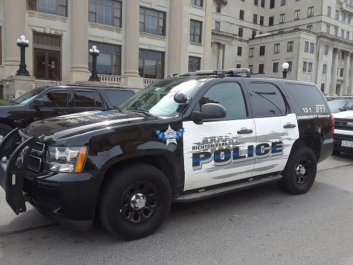 IL- Richton Park Police 2015 Chevy Tahoe
