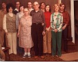 Year 1976 -Doyle, Imogene, Clifford, Janet, Mom (Tillie), Argil, Dad (Virgil), Arnold, June, Joan & Jimmy the entire clan