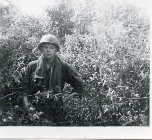 9-Dillard Massengale, somewhere in Vietnam, 1967 - 1968.