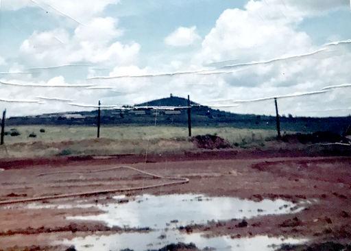 24-View of Artillery Hill, Pleiku, Vietnam