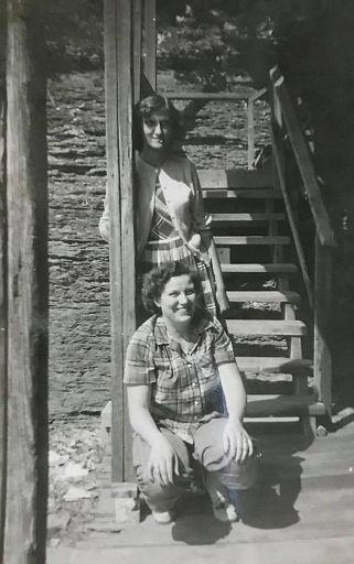 Rose and Rella HATFFIELD Burchfield-SHARP BRO's STORE