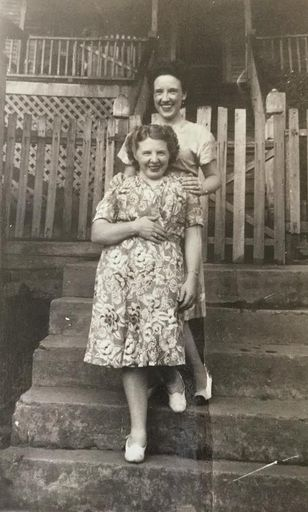Mae Sharp and Gretchen Sharpe