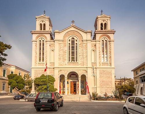 Kathedral, Samos city
