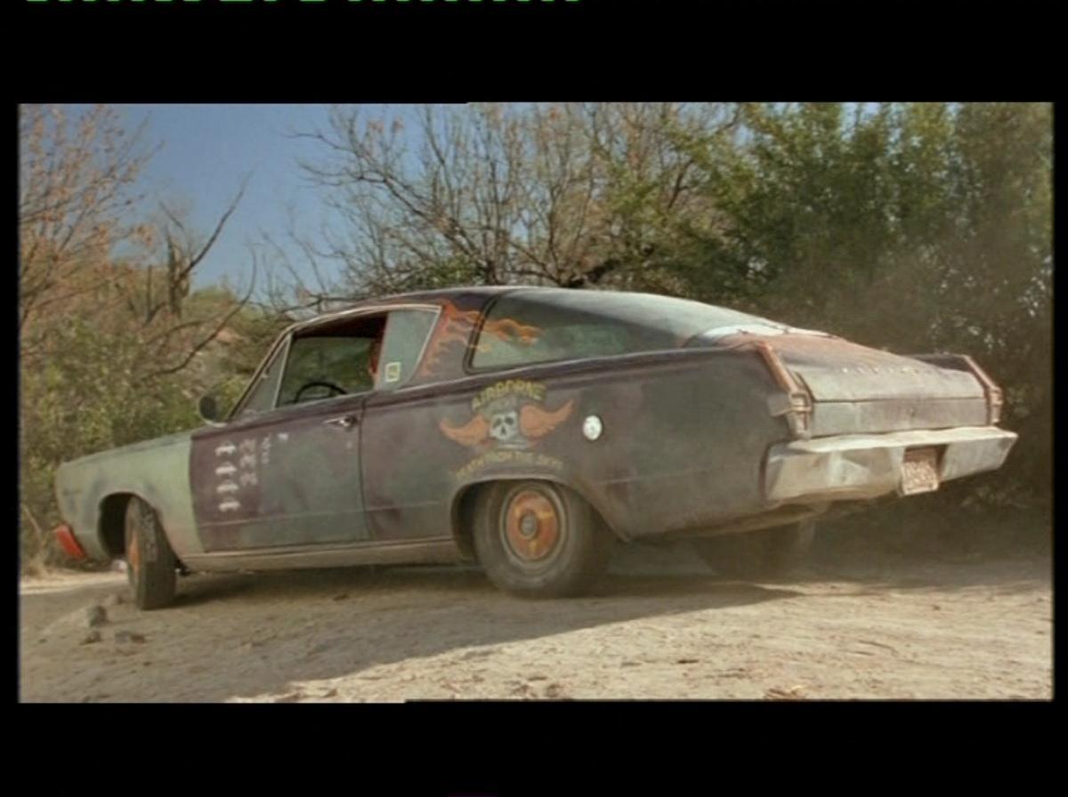 The Wraith Car: Skank´s ´66 Barracuda