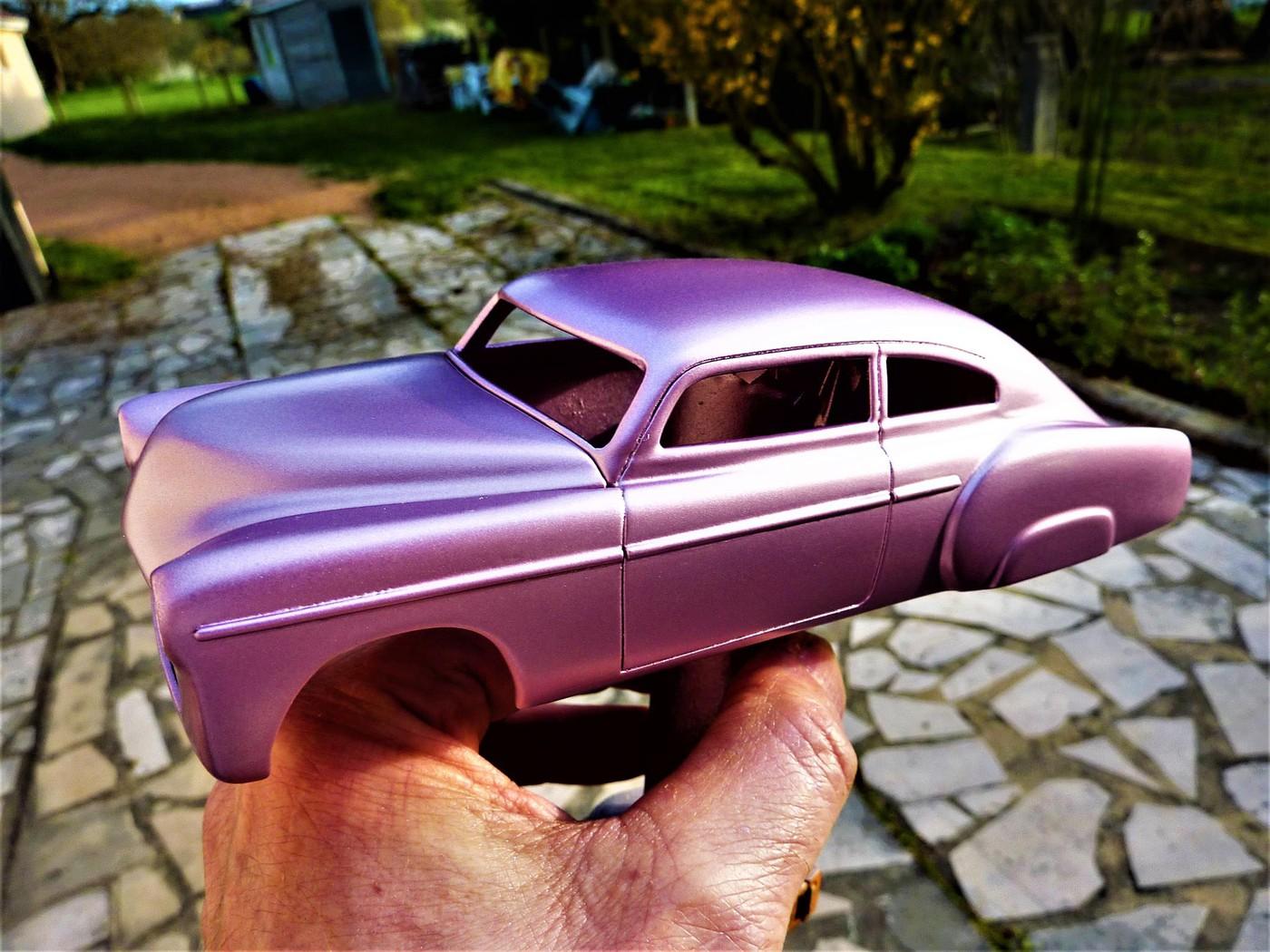 Refection complete d'une ancienne Chevy 51 Fleetline terminée Photo30-vi