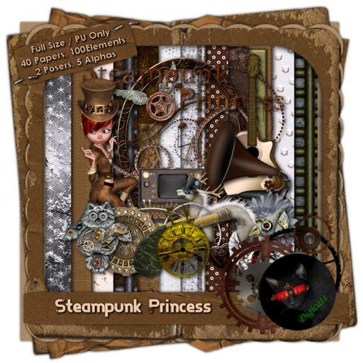 Steampunk Princess (Full)