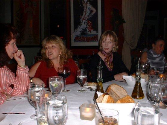 Linda, Roz, JoAnn & Fran 2003