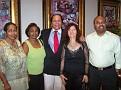 Dr Marlene Racine-Toussaint, Marie Eddie Racine, Lionel Laurenceau, Attroney Fitzgerald Francois.