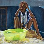"Refleksyion - 36""x36"" - Oil on Canvas - 2009"