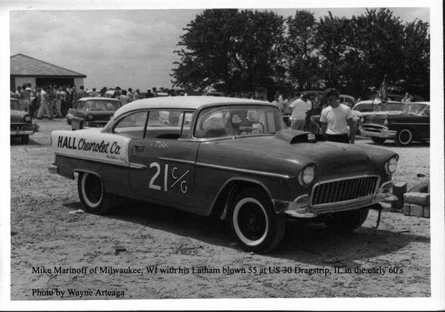 Photo: Hall Chevrolet cg 55 chevy ger | 55 Chevy Gers album ...