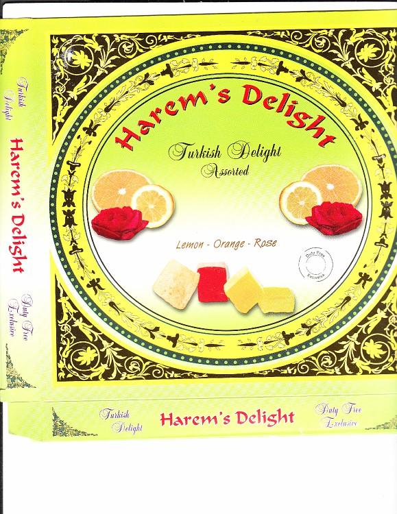 Harem's Delight fruits