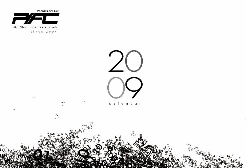 [公告]2009年 PFC專屬三角桌曆開始登記