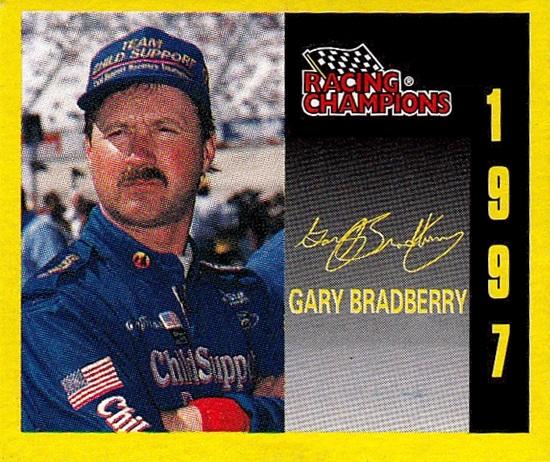 Racing Champions 1-144th 1997 Gary Bradberry (1)
