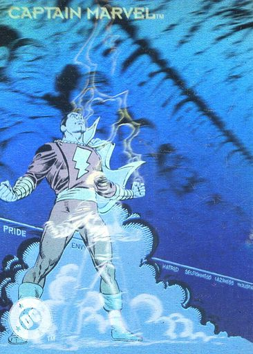 1993 DC Cosmic Teams Hologram #DCH11 (1)