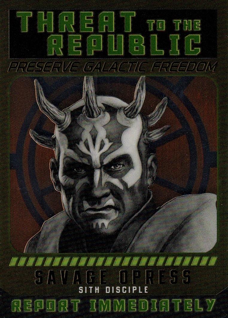 Chrome Perspectives Jedi vs  Sith Sith Fugitives #07 (1)