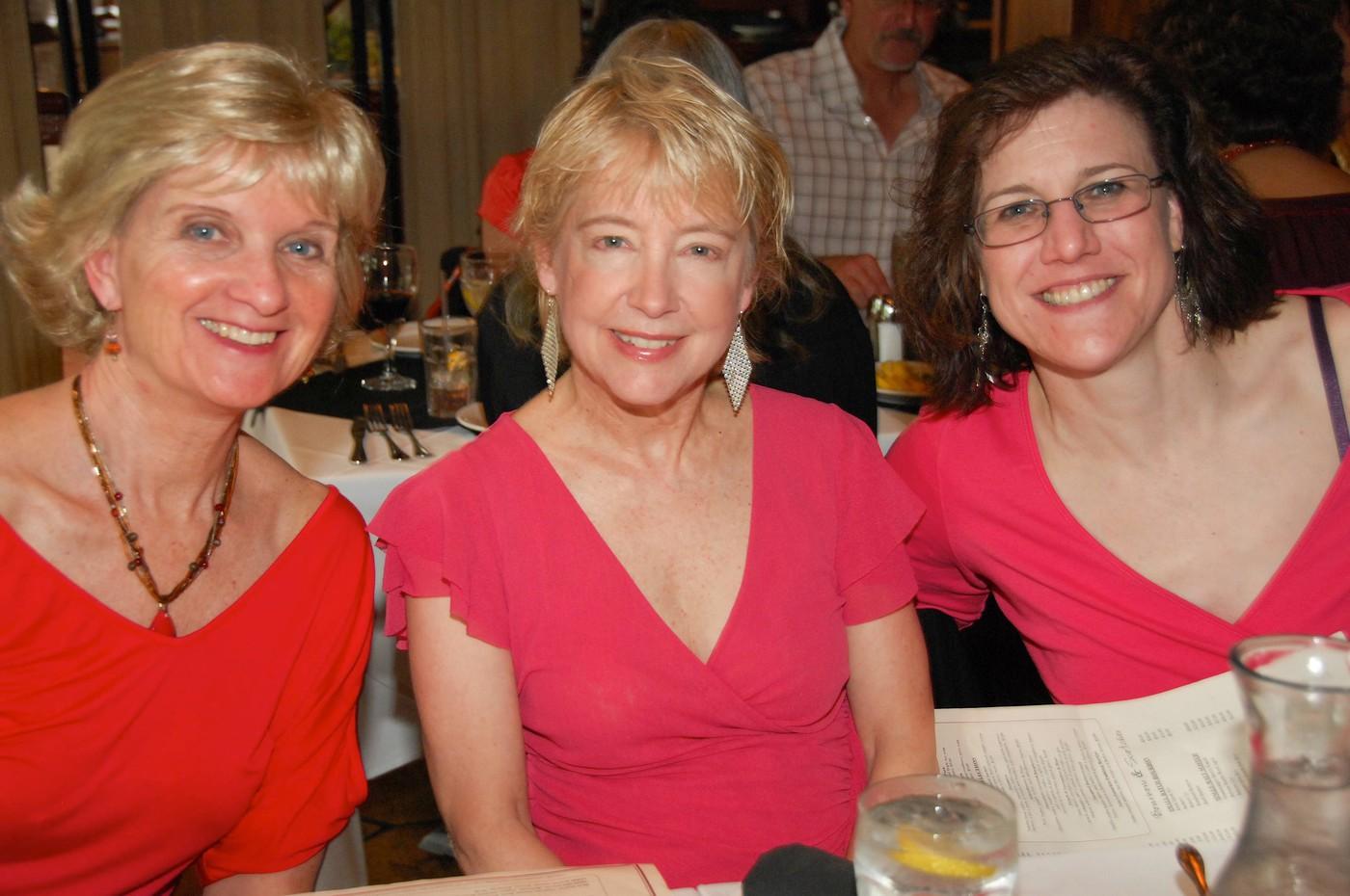Kay, Sharon Cloutier, Kathy Johanessen