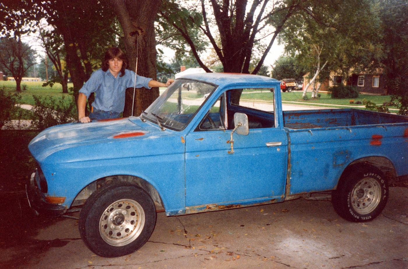 My 1966 Datsun circa 1986