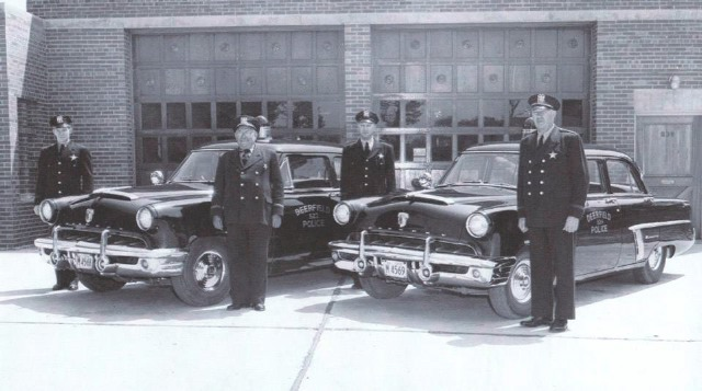 IL - Deerfield Police 1953 Mercurys