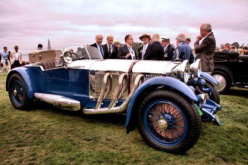 1929 Mercedes-Benz S Barker Tourer, Bruce R  McCaw, Bellevue, Washington DSC 2032 -3