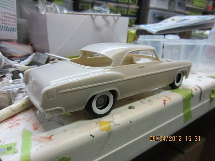 1955 Chrysler 300C, polissage, Bare-Metal!!!!! 002-vi