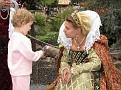 Savanna meets the Queen