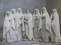 Baroness Fon Ikskul whith sisters of charity. The third - grandmother Nina.