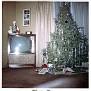 Virgie's living room, 529 N  Clemens, Christmas 1963
