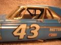 #43 1964 Plymouth stock car Richard Petty Lindburg