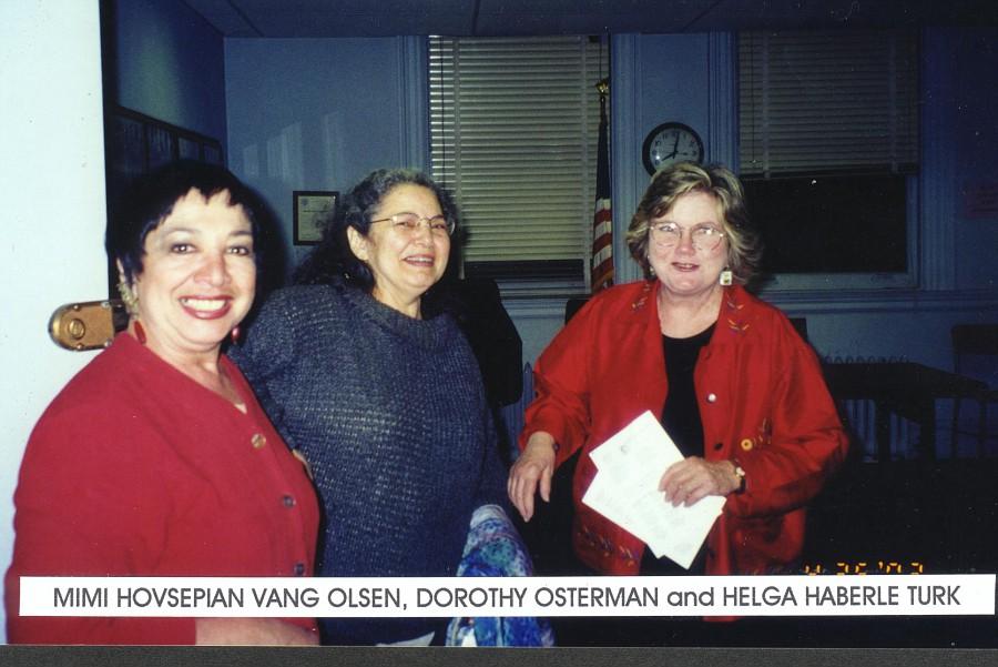 Mimi, Dorothy & Helga